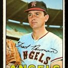 CALIFORNIA ANGELS FRED NEWMAN 1967 TOPPS # 451 VG
