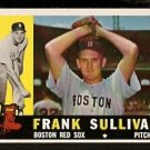 BOSTON RED SOX FRANK SULLIVAN 1960 TOPPS # 280