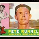 BOSTON RED SOX PETE RUNNELS 1960 TOPPS # 15 NR MT