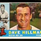 BOSTON RED SOX DAVE HILLMAN 1960 TOPPS # 68 EM