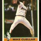 BALTIMORE ORIOLES MIKE CUELLAR 1976 TOPPS # 285 G/VG