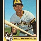 SAN DIEGO PADRES ENZO HERNANDEZ 1976 TOPPS # 289 VG