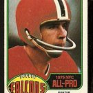 ATLANTA FALCONS JOHN JAMES 1976 TOPPS # 240 VG