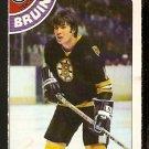 BOSTON BRUINS PETER McNAB 1978 OPC O PEE CHEE # 212