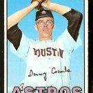 HOUSTON ASTROS DAN COOMBS 1967 TOPPS # 464 EX