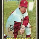 PHILADELPHIA PHILLIES BOBBY WINE 1967 TOPPS # 466