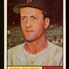 BOSTON RED SOX DAVE HILLMAN 1961 TOPPS # 326 NR MT