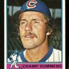CHICAGO CUBS CHAMP SUMMERS 1976 TOPPS # 299 EX
