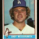 LOS ANGELES DODGERS ANDY MESSERSMITH 1976 TOPPS # 305 good