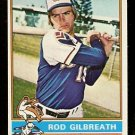 ATLANTA BRAVES ROD GILBREATH 1976 TOPPS # 306 EX
