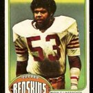 WASHINGTON REDSKINS HAROLD McLINTON 1976 TOPPS # 251 VG