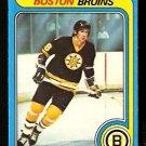 BOSTON BRUINS MIKE MILBURY 1979 OPC O PEE CHEE # 114 VG