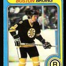 BOSTON BRUINS DICK REDMOND 1979 OPC O PEE CHEE # 129