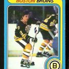 BOSTON BRUINS BOB SCHMAUTZ 1979 OPC O PEE CHEE # 144 EM/NM