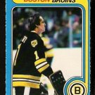 BOSTON BRUINS GILLES GILBERT 1979 OPC O PEE CHEE # 209 NR MT