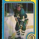 BOSTON BRUINS DENNIS O'BRIEN 1979 OPC O PEE CHEE # 375 VG/EX