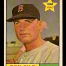 BOSTON RED SOX DON GILE ROOKIE CARD RC 1961 TOPPS # 236 NR MT