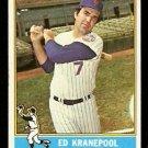 NEW YORK METS ED KRANEPOOL 1976 TOPPS # 314 VG