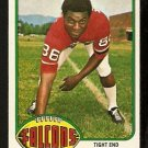 ATLANTA FALCONS JIM MITCHELL 1976 TOPPS # 276 EX MT