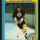 BOSTON BRUINS PETER McNAB 1979 TOPPS # 39 EX