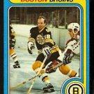 BOSTON BRUINS WAYNE CASHMAN 1979 TOPPS # 79 EX MT