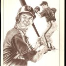 NEW YORK METS GREGG JEFFERIES OAKLAND ATHLETICE MARK McGWIRE 1988 PINUP PHOTOS