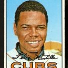 CHICAGO CUBS FELIX MANTILLA 1967 TOPPS # 524 VG