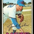 NEW YORK METS JACK FISHER 1967 TOPPS # 533 EX