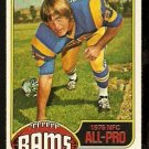 LOS ANGELES RAMS JACK YOUNGBLOOD ALL PRO 1976 TOPPS # 310 EX/EM
