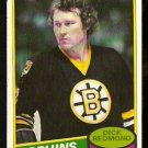 BOSTON BRUINS DICK REDMOND 1980 OPC O PEE CHEE # 36 EX MT/NR MT