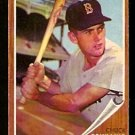 BOSTON RED SOX CHUCK SCHILLING 1962 TOPPS # 345 EM