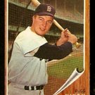 BOSTON RED SOX RUSS NIXON 1962 TOPPS # 523 SHORT PRINT EX+/EM