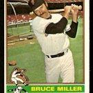 SAN FRANCISCO GIANTS BRUCE MILLER 1976 TOPPS # 367 EX/EM