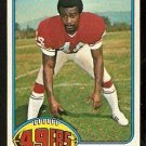 SAN FRANCISCO FORTY NINERS BRUCE TAYLOR 1976 TOPPS # 327 VG