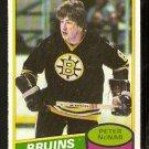 BOSTON BRUINS PETER McNAB 1980 OPC O PEE CHEE # 220 EX MT