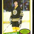 BOSTON BRUINS BOB MILLER 1980 OPC O PEE CHEE # 236 NR MT