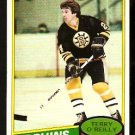 BOSTON BRUINS TERRY O'REILLY 1980 TOPPS # 56 EX+/EM