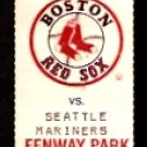 MARINERS @ RED SOX 1991 FULL TICKET ROGER CLEMENS WADE BOGGS 4 HITS KEN GRIFFEY 3 HITS JACK CLARK HR