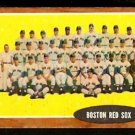 BOSTON RED SOX TEAM CARD 1962 TOPPS # 334 EX+/EM