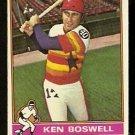 HOUSTON ASTROS KEN BOSWELL 1976 TOPPS # 379 VG