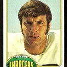 SAN DIEGO CHARGERS PAT CURRAN 1976 TOPPS # 337 EX MT