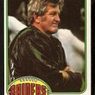 OAKLAND RAIDERS GEORGE BLANDA 1976 TOPPS # 355 EX MT+