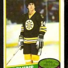 BOSTON BRUINS BOB MILLER 1980 TOPPS # 236 VG