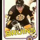 BOSTON BRUINS STEVE KASPER ROOKIE CARD RC 1981 OPC O PEE CHEE # 4 NR MT