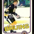 BOSTON BRUINS PETER McNAB 1981 OPC O PEE CHEE # 5 VG