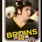 BOSTON BRUINS MIKE O'CONNELL 1981 OPC O PEE CHEE # 6 NR MT