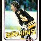 BOSTON BRUINS DICK REDMOND 1981 OPC O PEE CHEE # 9 NR MT