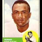 BOSTON RED SOX ROMAN MEJIAS 1963 TOPPS # 432 EX MT
