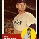 BOSTON RED SOX DICK RADATZ 1963 TOPPS # 363 NR MT