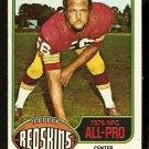 WASHINGTON REDSKINS LEN HAUSS NFC ALL-PRO 1976 TOPPS # 370 EM/NM